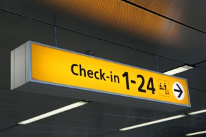Check In Flight Travel Tips